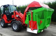 Вертикална фуражораздаваща миксер кофа за мини челен товарач и трактор